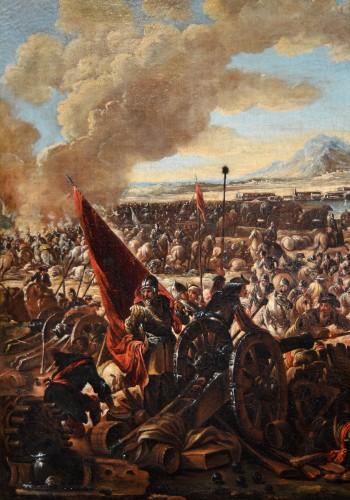 Louis XV - Battle scene - Ilario Mercanti dit 'Spolverini' (1657-1734)