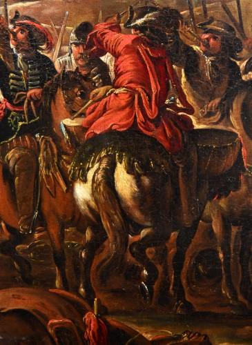 Antiquités - Battle scene - Ilario Mercanti dit 'Spolverini' (1657-1734)