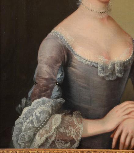Antiquités - Charles-amédée Van Loo (1719 - 1795) Signed, Pair Of Portraits