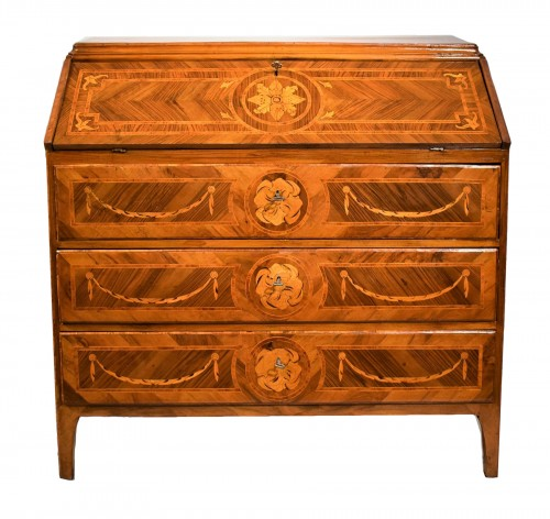 Lombard Bureau of Louis XVI period circa 1770