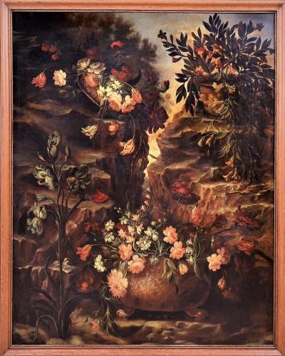 Grande Nature Morte de Fleurs