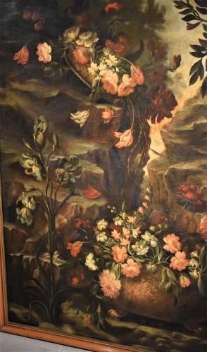 Paintings & Drawings  - Grande Nature Morte de Fleurs