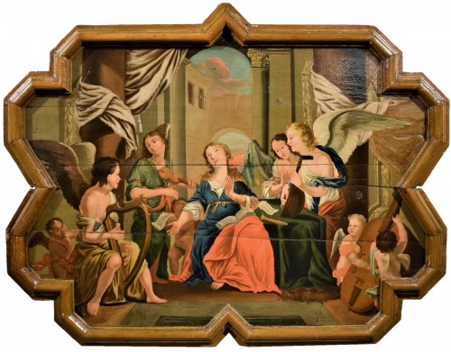 Sainte Cécile et le Concert des Anges école Venitienne du XVIIè