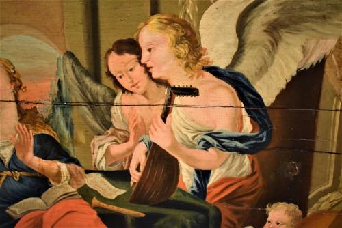 Louis XIII - Sainte Cécile et le Concert des Anges école Venitienne du XVIIè