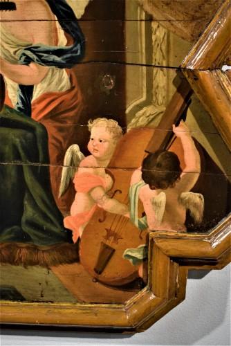 Antiquités - Sainte Cécile et le Concert des Anges école Venitienne du XVIIè