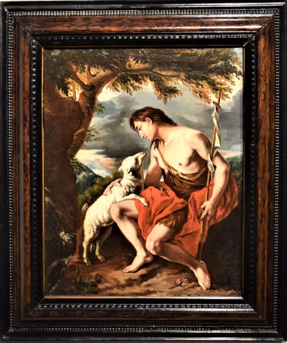 Saint John the Baptist in the Deer""