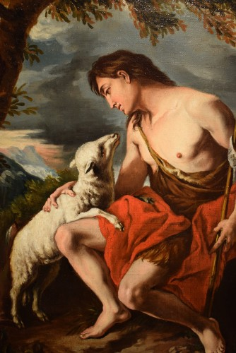 "Saint John the Baptist in the Deer"" -"