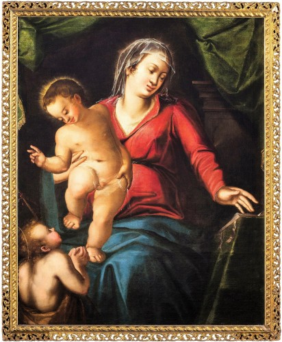 Virgin with the Child and Saint John the Baptist, Italian Renaissance