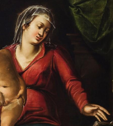 <= 16th century - Virgin with the Child and Saint John the Baptist, Italian Renaissance