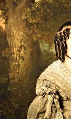 """19th century - """"Portrait de la Princesse Kotschoubey"""""""
