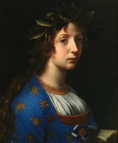 """La Poesia - Italian school of the 17th century - Paintings & Drawings Style Louis XVI"