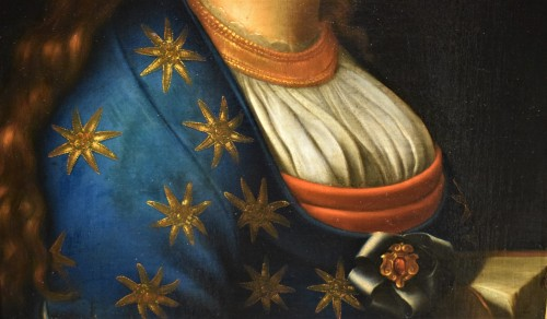 """La Poesia - Italian school of the 17th century - Louis XVI"