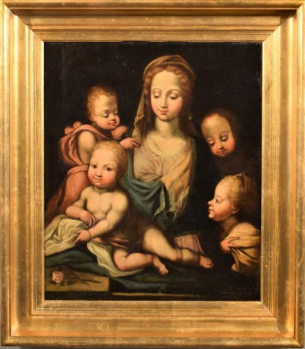 Madonna with Child and Angels (The Charity) Italian Renaissance