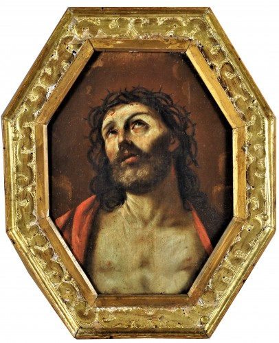 """""""Ecce Homo"""" Workshop of Guido Reni (Bologna 1574-1642) - Paintings & Drawings Style Louis XIII"""