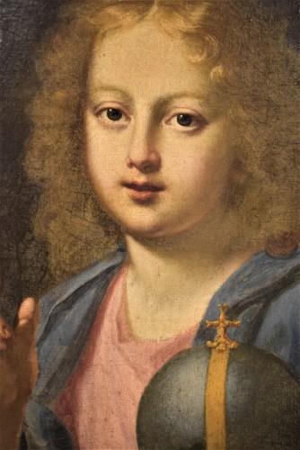 """The """"Salvator Mundi"""" of Carlo Maratta, Italy 17th century -"""