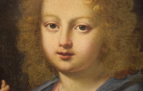 "17th century - The ""Salvator Mundi"" of Carlo Maratta, Italy 17th century"