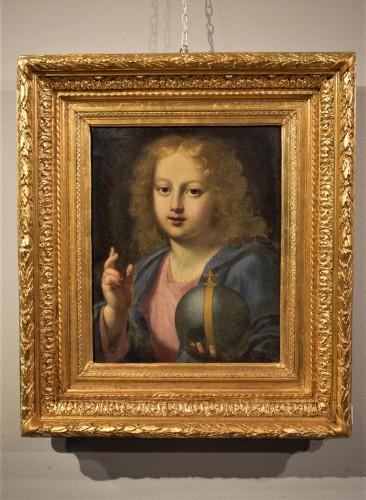 "Antiquités - The ""Salvator Mundi"" of Carlo Maratta, Italy 17th century"