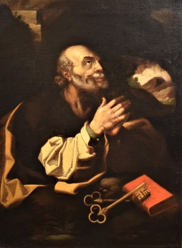 """Saint Peter""  atelier de Hendrick Goltzius"