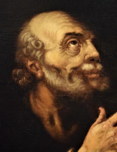 <= 16th century - &quot;Saint Peter&quot;  atelier de Hendrick Goltzius