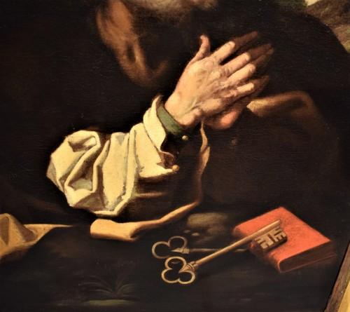 "Louis XIII - ""Saint Peter""  atelier de Hendrick Goltzius"