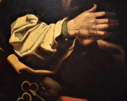 """Antiquités - """"Saint Peter""""  atelier de Hendrick Goltzius"""