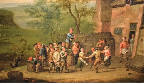 Paintings & Drawings  - Party in the Village