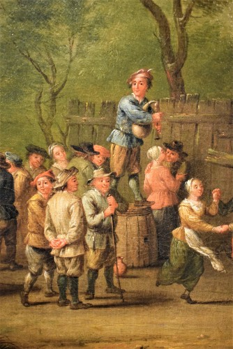 17th century - Party in the Village