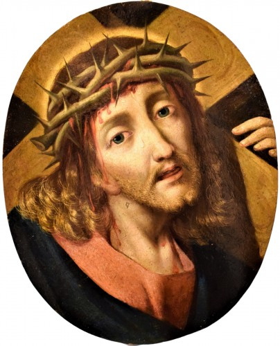 "Michael Coxie (Malines 1499-1592) ""Face of Christ"""