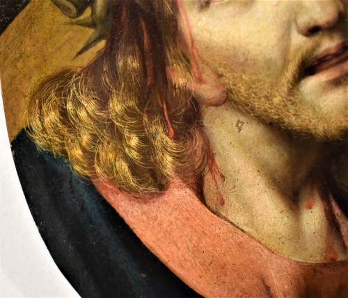 <= 16th century - Michael Coxie (Malines 1499-1592) &quot;Face of Christ&quot;