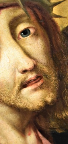 "Antiquités - Michael Coxie (Malines 1499-1592) ""Face of Christ"""