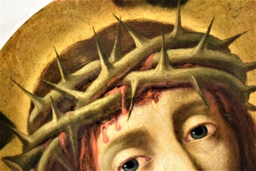 "Antiquités - Michael Coxie (Malines 1499-1592) ""Face of Christ"""