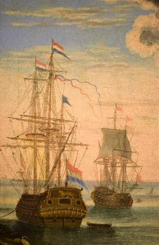"""Port Scene"" Horace Grevenbroeck (Paris 1670-1743) workshop -"