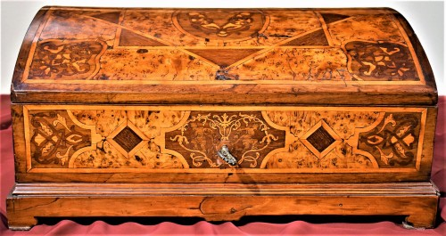 Travel box Louis XIV early years of XVIIIth century - Furniture Style Louis XIV