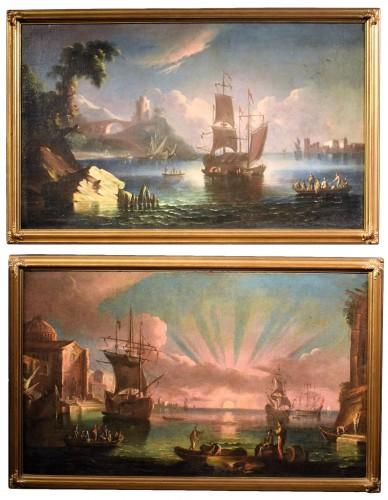 Tableaux 18e Siecle Peinture Antiquites Anticstore