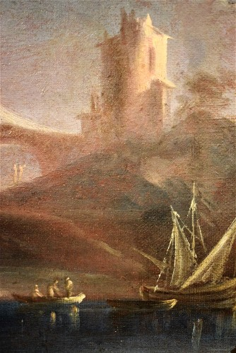 Antiquités - Pair of Marines painting  - Paolo Maria Antoniani (1745 -1807)