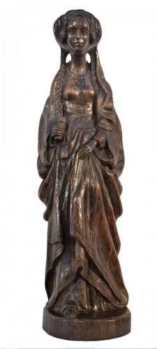 """Magdalene"" Flemish Gothic sculpture"