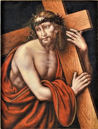 "Christ portant la Croix, G.P. Rizzoli ""Giampietrino"" 1530c."