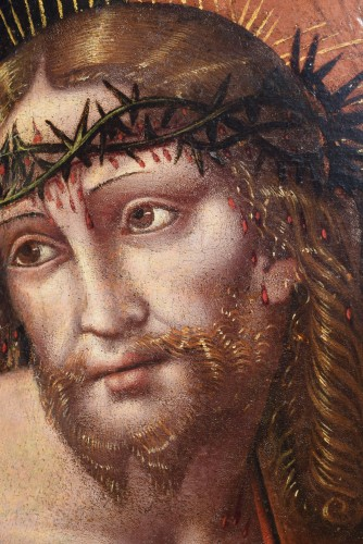 "Christ portant la Croix, G.P. Rizzoli ""Giampietrino"" 1530c. - Paintings & Drawings Style Renaissance"