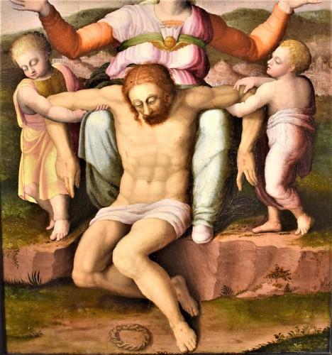 """""""La Pietà"""" ècole Romaine du XVIème par Michelangelo Buonarroti -"""