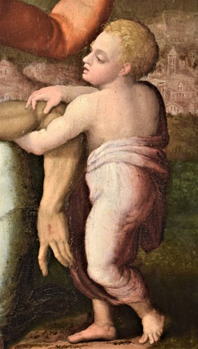 """""""La Pietà"""" ècole Romaine du XVIème par Michelangelo Buonarroti - Renaissance"""