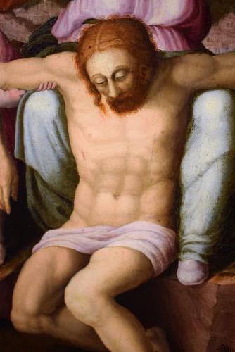 """Renaissance - """"La Pietà"""" ècole Romaine du XVIème par Michelangelo Buonarroti"""