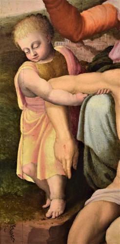 """Antiquités - """"La Pietà"""" ècole Romaine du XVIème par Michelangelo Buonarroti"""