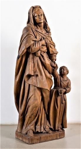 Sculpture  - Saint Anne and the Virgin Child