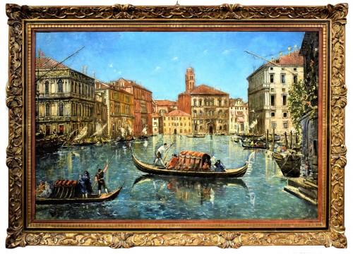 """Venezia, """"Il Canal Grande"""" - Lucia Ponga degli Ancillo (1887-1966)"""