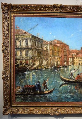 "Venezia, ""Il Canal Grande"" - Lucia Ponga degli Ancillo (1887-1966) - Paintings & Drawings Style"