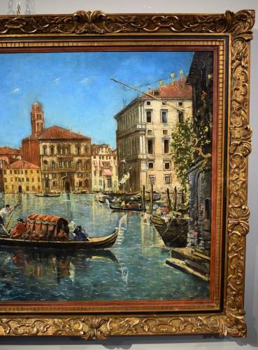 "Paintings & Drawings  - Venezia, ""Il Canal Grande"" - Lucia Ponga degli Ancillo (1887-1966)"