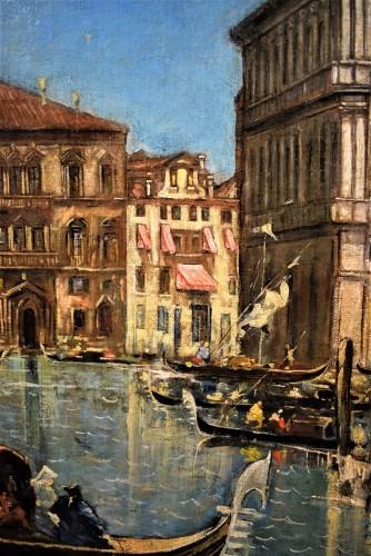 """20th century - Venezia, """"Il Canal Grande"""" - Lucia Ponga degli Ancillo (1887-1966)"""