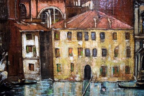 """- Venezia, """"Il Canal Grande"""" - Lucia Ponga degli Ancillo (1887-1966)"""