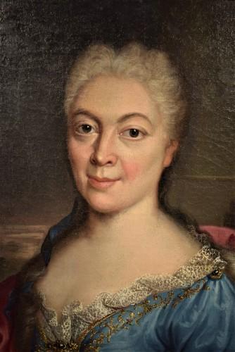 Paintings & Drawings  - Pair de Portraits, Workshop of Nicolas de Largillière 17th century