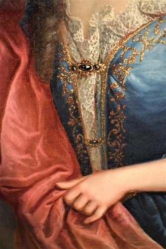 Pair de Portraits, Workshop of Nicolas de Largillière 17th century -